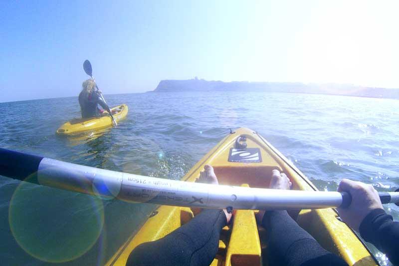 Kayak lessons in scarborough